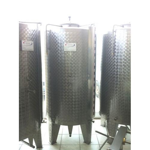 1100 Litre Paslanmaz Çelik Stok Tankı