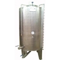 1100 Liter Stainless Steel Storage Tank