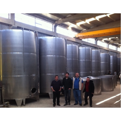 16500 Litre Paslanmaz Çelik Stok Tankı