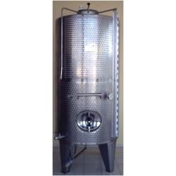 2000 Litre Paslanmaz Çelik Stok Tankı