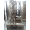 2 NOZZLE TABLETOP BOTTLE FILLING MACHINE