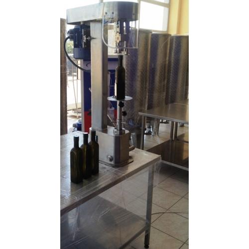 Aluminyum Kapak Sıvama Makinesi