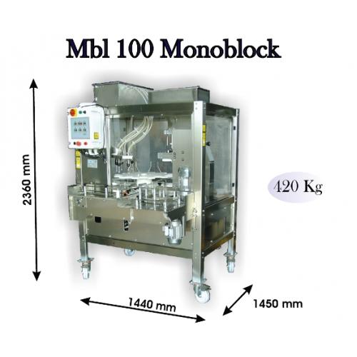Otomatik Dolum ve Mantarlama Makinesi