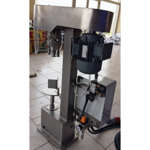 Pnömatik Kapak Sıvama Makinesi