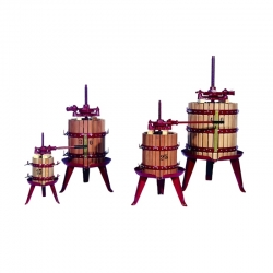130 litre hacimli  Ahşap Kafesli Pres